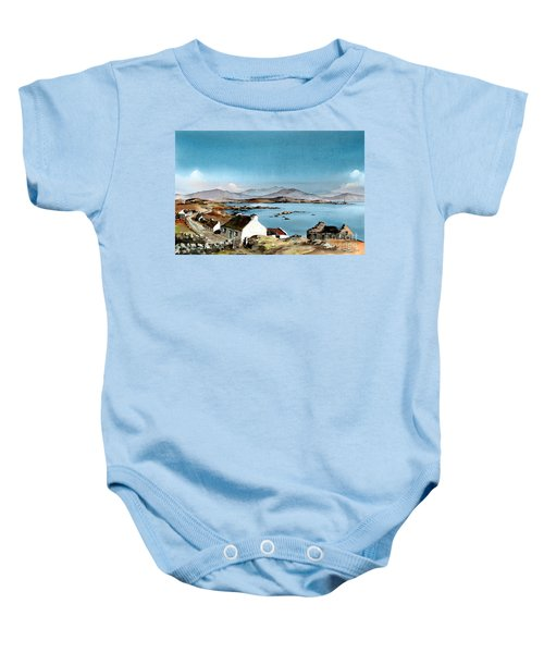 East End, Inishboffin, Galway Baby Onesie