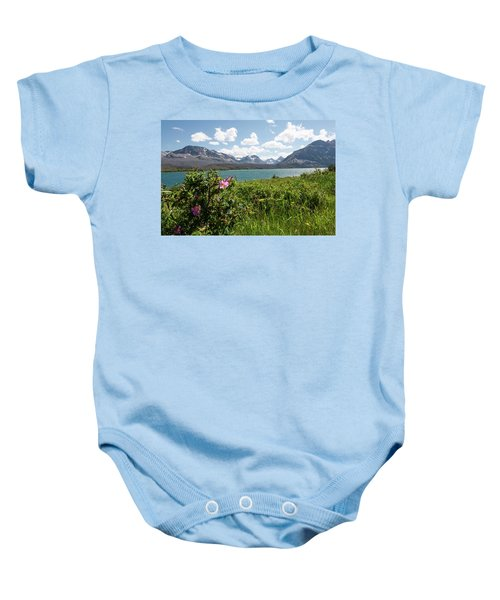 East Glacier National Park Baby Onesie