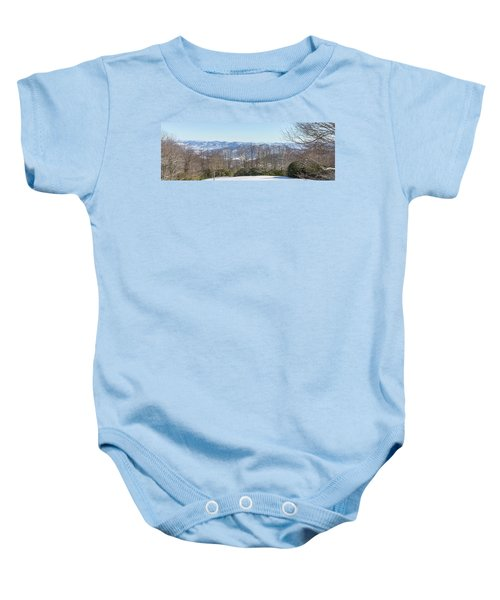 Easterly Winter View Baby Onesie
