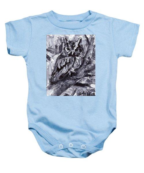 Eastern Screech-owl Baby Onesie