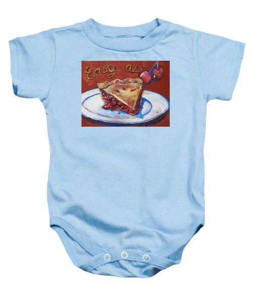 Easy As Pie Baby Onesie