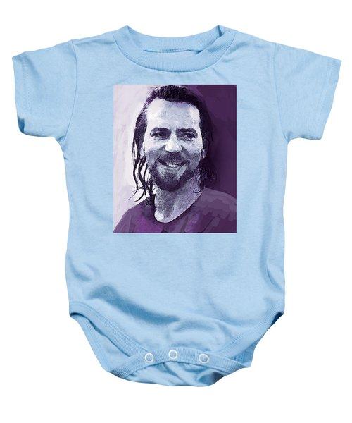 Eddie Vedder Pearl Jam  Baby Onesie
