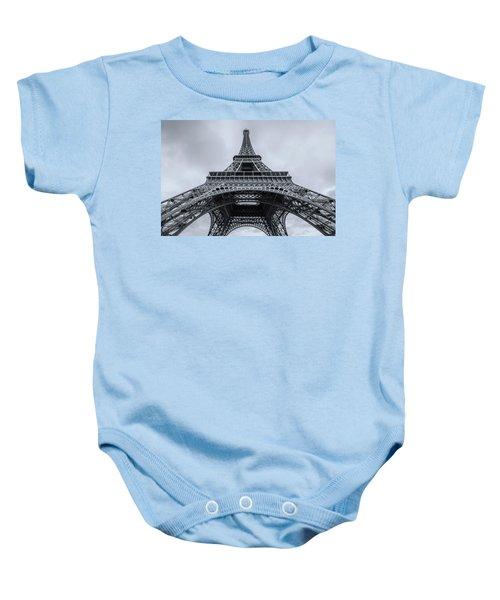 Eiffel Tower 3 Baby Onesie