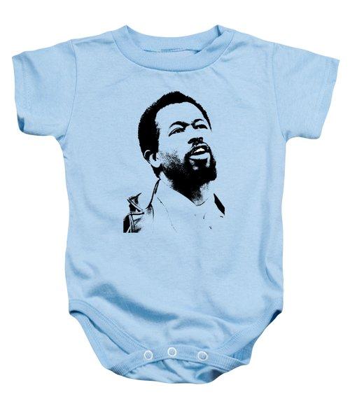 Eldridge Cleaver Baby Onesie by Otis Porritt