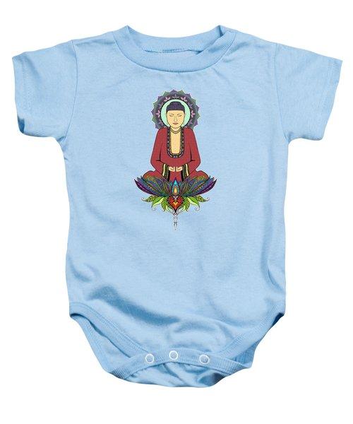 Electric Buddha Baby Onesie