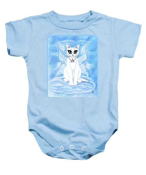 Elemental Air Fairy Cat Baby Onesie