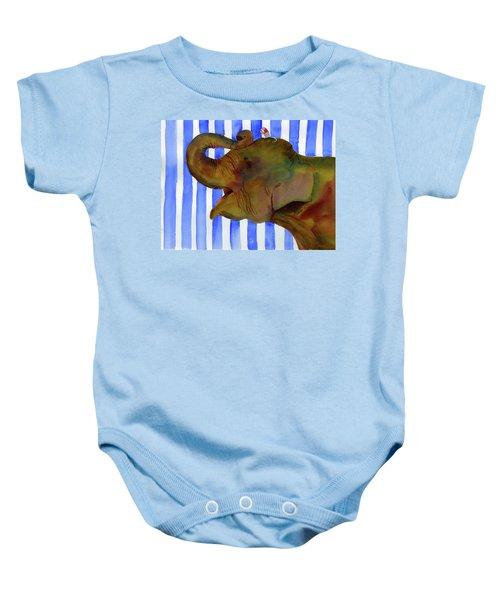 Elephant Joy Baby Onesie
