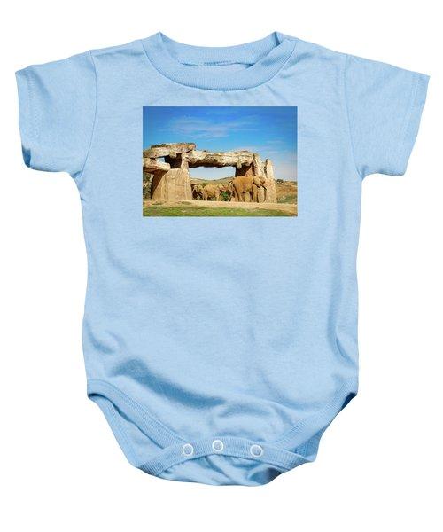 Elephants Baby Onesie
