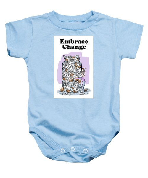 Embrace Change Baby Onesie