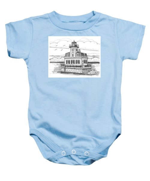 Esopus Meadows Lighthouse Baby Onesie