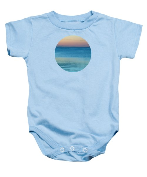 Evening At The Lake Baby Onesie by Mary Wolf