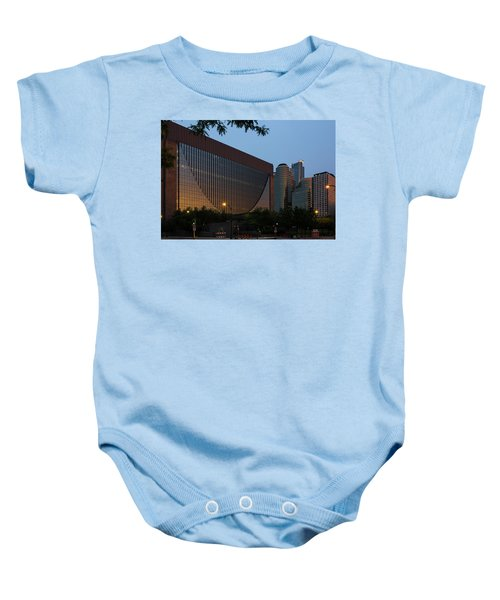 Evening In Downtown Minneapolis Baby Onesie