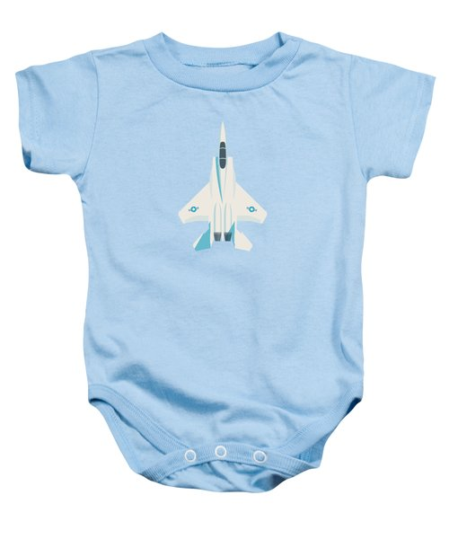 F15 Eagle Us Air Force Fighter Jet Aircraft - Sky Baby Onesie