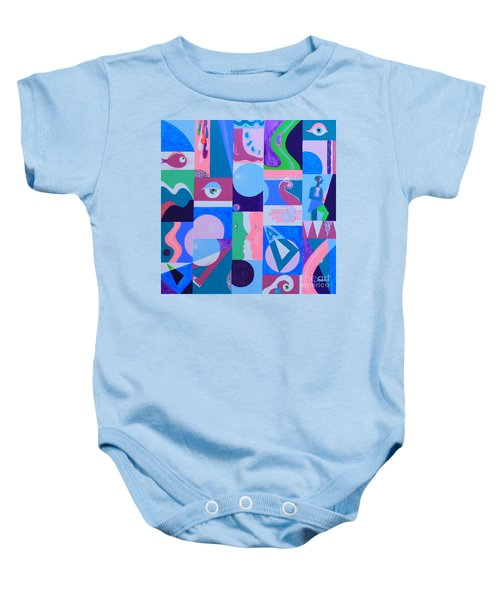 Face-to-face  Baby Onesie