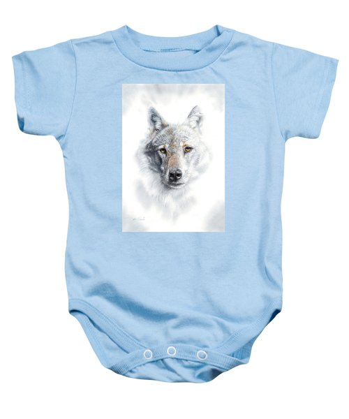 Fade To Grey Baby Onesie
