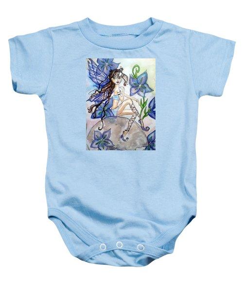 Fairy Blue Baby Onesie