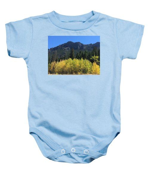 Fall At Twin Sisters Baby Onesie