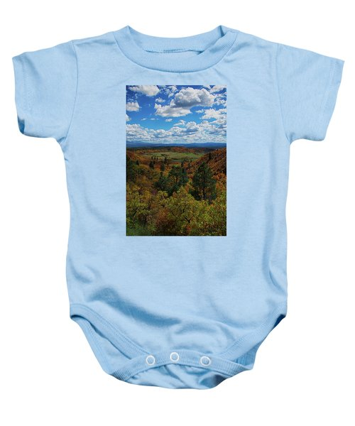 Fall On Four Mile Road Baby Onesie
