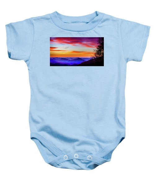 Fall On Your Knees Baby Onesie