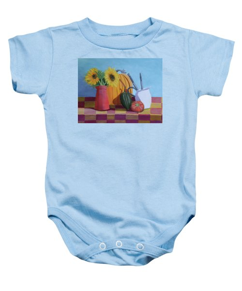 Fall Time Baby Onesie