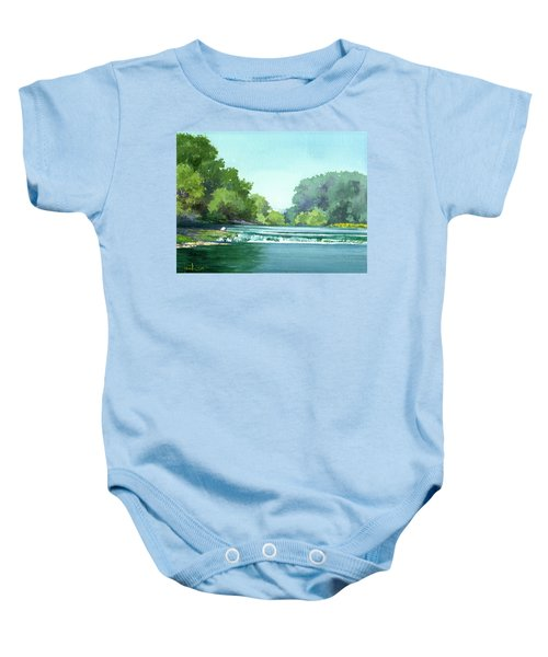 Falls At Estabrook Park Baby Onesie