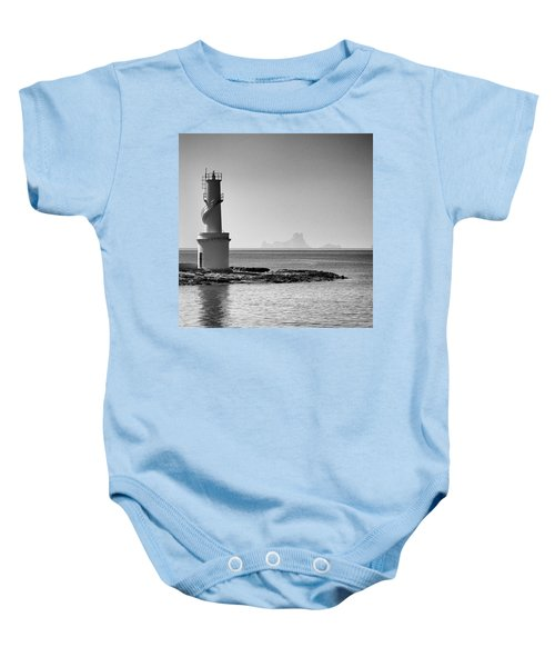 Far De La Savina Lighthouse, Formentera Baby Onesie