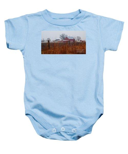Farm House Baby Onesie