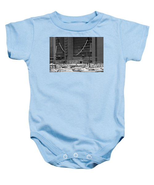 Federal Reserve Under Construction Baby Onesie
