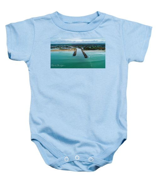 Fenway Beach Breakwater Baby Onesie