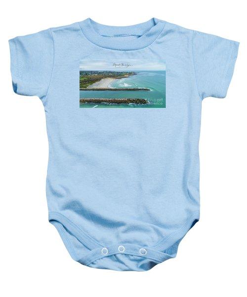 Fenway Beach, Weekapaug Baby Onesie