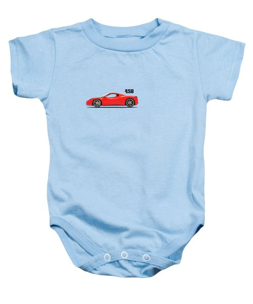 Ferrari 458 Italia Baby Onesie by Mark Rogan