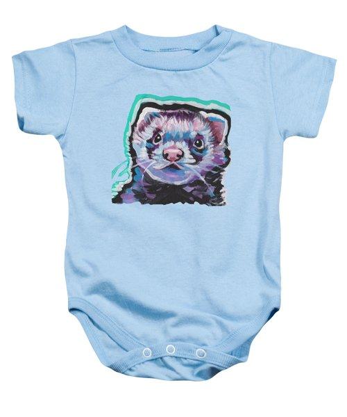 Ferret Fun Baby Onesie