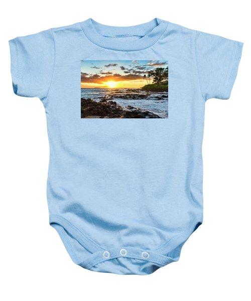 Find Your Beach 2 Baby Onesie