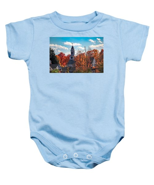 First Congregational Church Of Southampton Baby Onesie