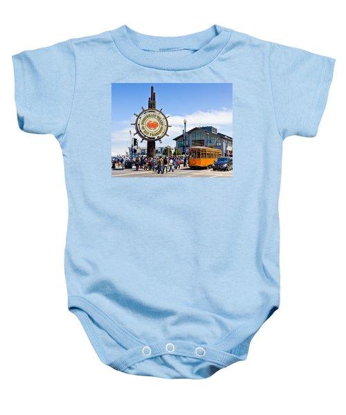 Fishermans Wharf - San Francisco Baby Onesie
