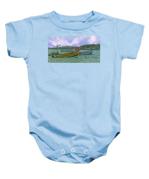Fishermen's Wharf Baby Onesie