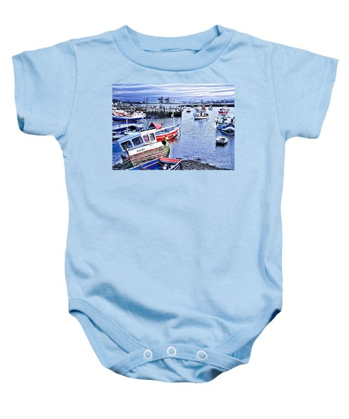 Fishing Boats At 'paddy's Hole' Baby Onesie