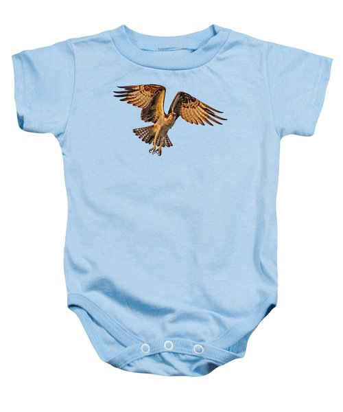 Flight Of The Osprey Baby Onesie