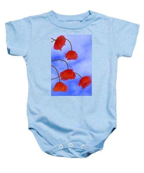 Flight Red Baby Onesie