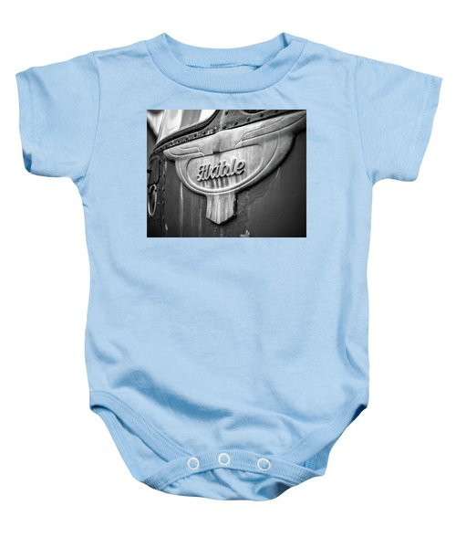 Flxible Clipper 1948 Bw Baby Onesie