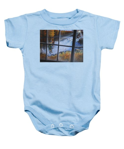 Fly Fisher Baby Onesie