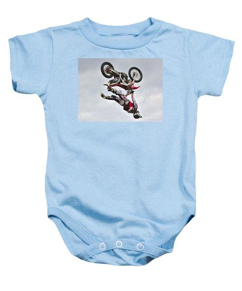 Flying Inverted Baby Onesie