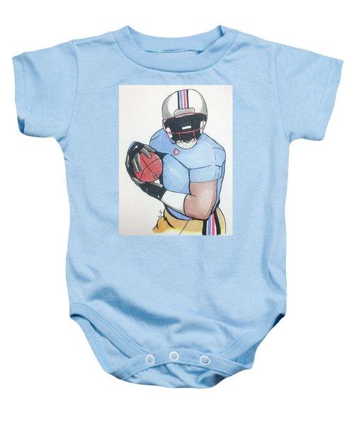 Football Player Baby Onesie