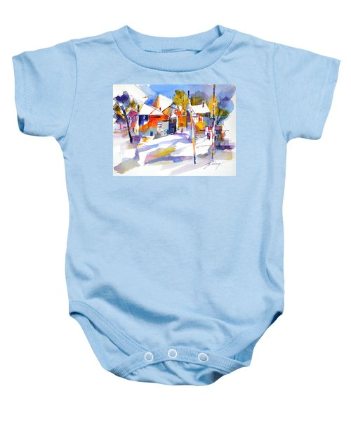 For Love Of Winter #2 Baby Onesie