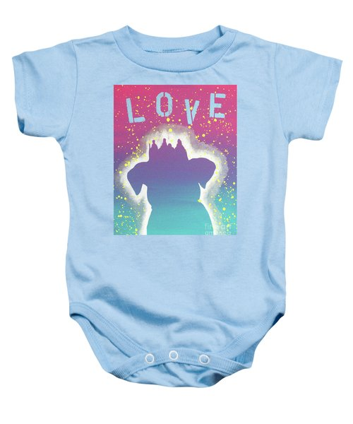 For The Love Of Pups Baby Onesie