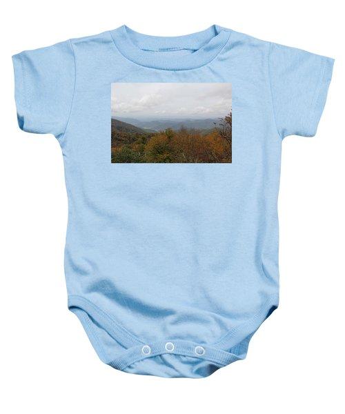 Forest Landscape View Baby Onesie
