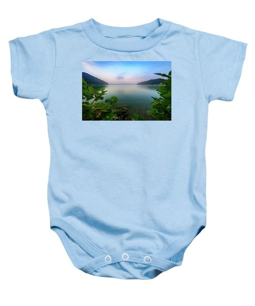 Forever Morning Baby Onesie