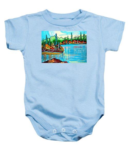 Forgotten Lake Baby Onesie
