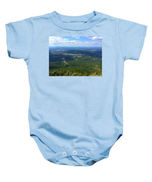 Fort Mountain Baby Onesie