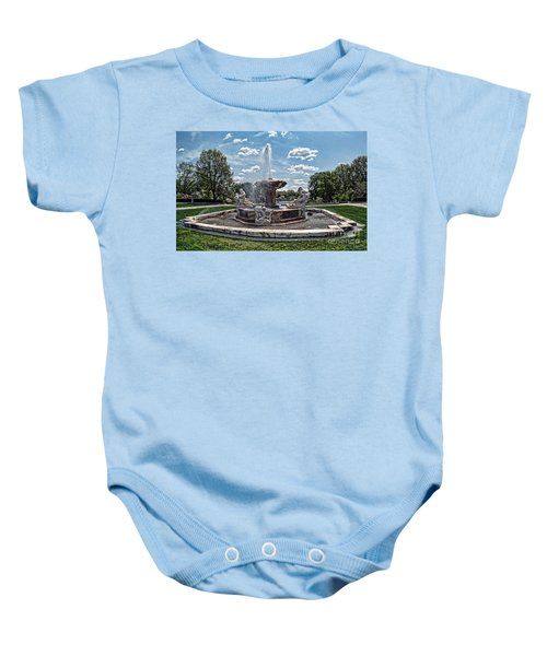 Fountain - Cleveland Museum Of Art Baby Onesie